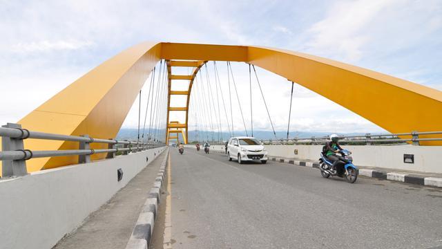 Jembatan Palu Iv Primadona Masyarakat Sulawesi Tengah Lifestyle Kota