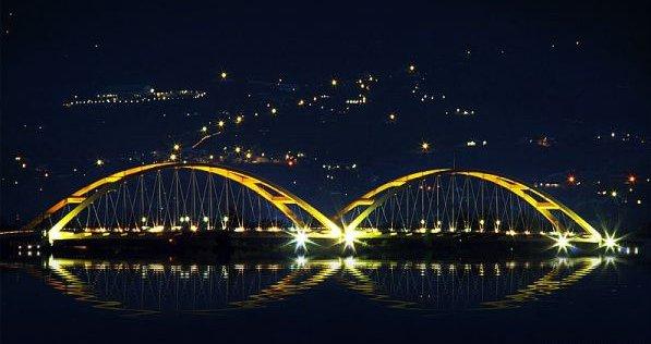Ponulele Bridge Palu Tourism Interesting Places Beauty City Complete Existence