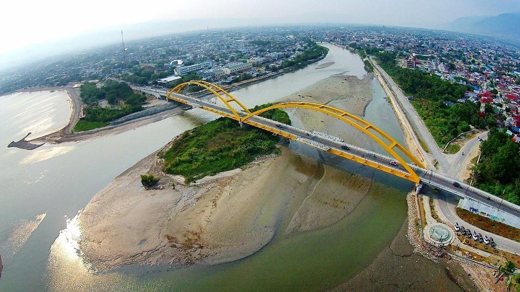 Selayang Pandang Jembatan Ponulele Sulawesi Tengah Backpacker Jakarta Foto Google