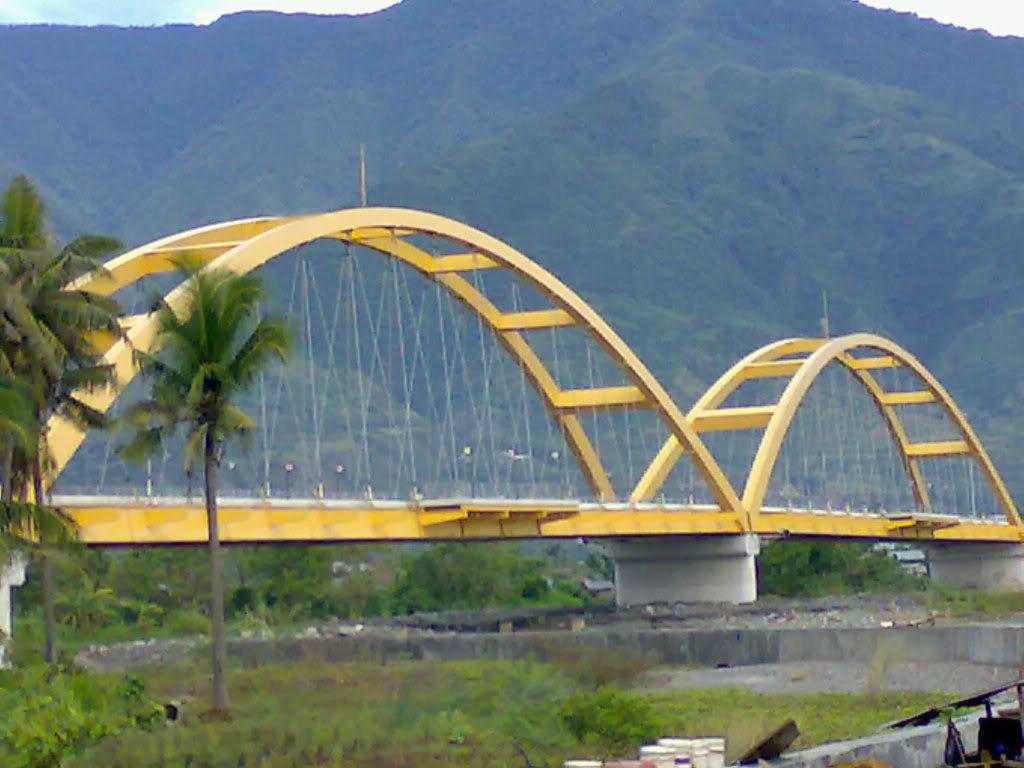 Travel World Jembatan Teluk Palu Iv Sebuah Terletak Kota Sulawesi