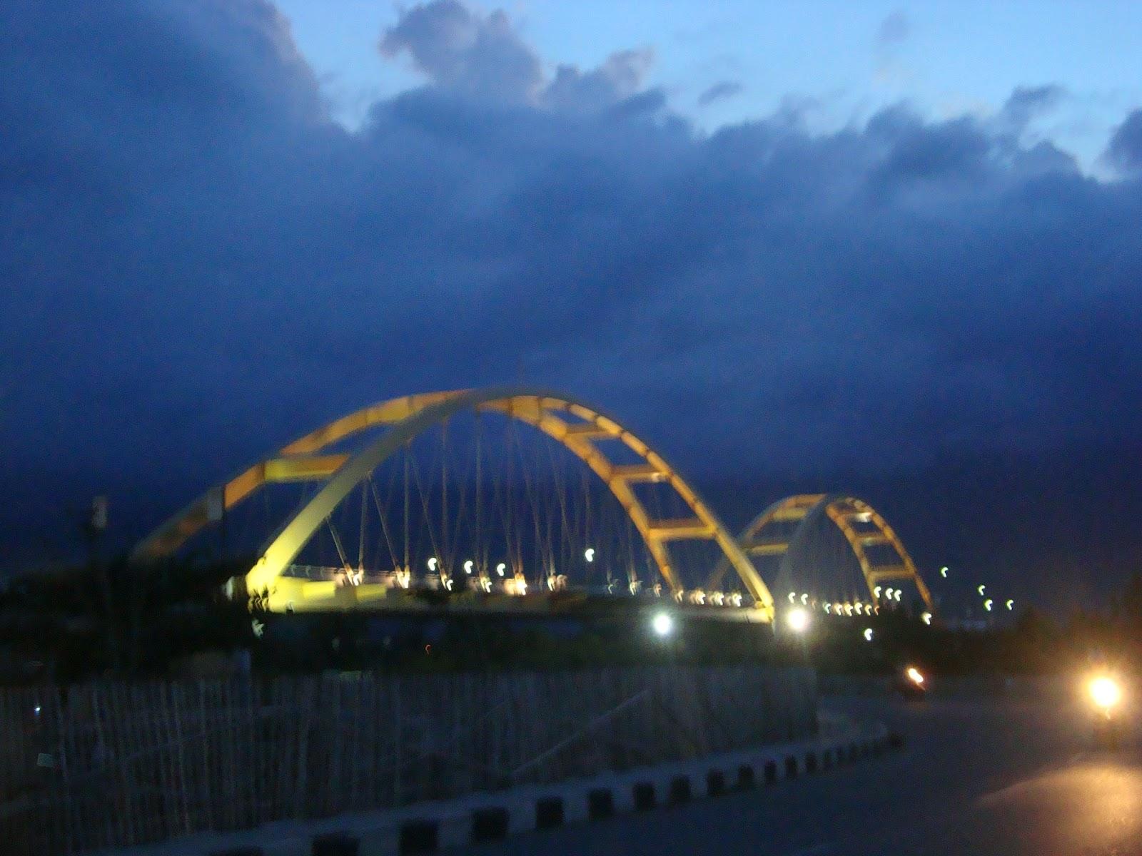 Wisata Alam Nusantara Kota Palu Jembatan Iv