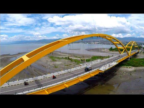 Jalan Mengunjungi Jembatan Kuning Palu Youtube Merah Kota