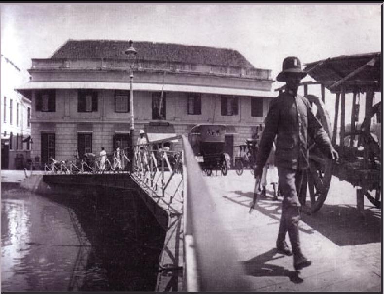 Potret Surabaya Tempo Dulu 2 Berita Info Jembatan Merah 1