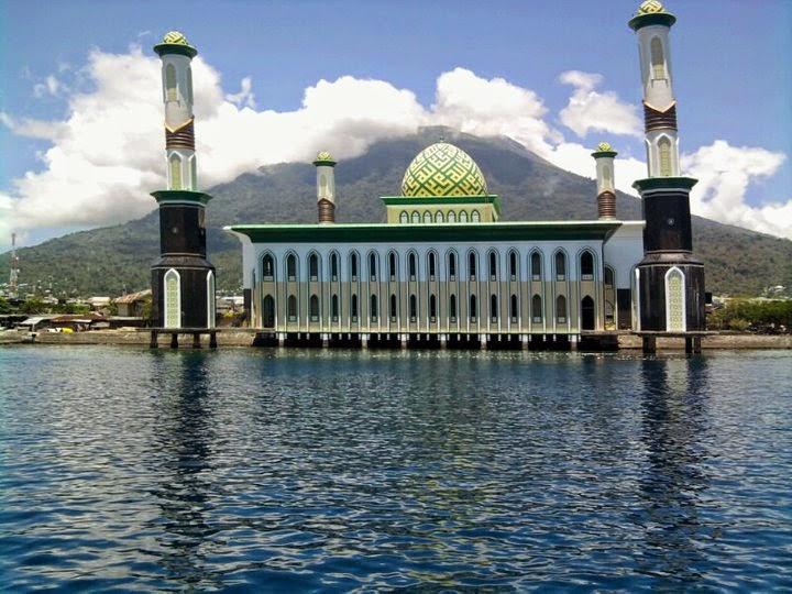 6 Masjid Terapung Indah Indonesia Bogordaily Net Antara Kemegahan Setidaknya