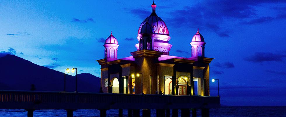 Flash Lite Photography Indoor Outdoor Wedding Masjid Apung Palu Kota
