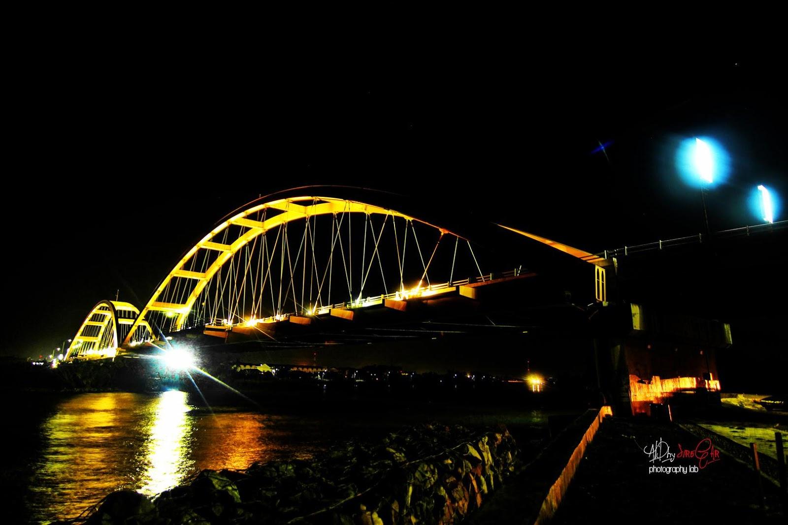Hunting 23 Jembatan Teluk Masjid Terapung Al Bargham Palu Canon
