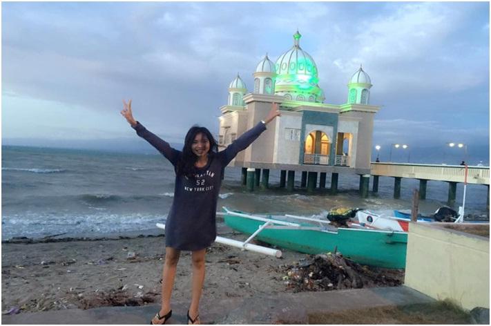 Masjid Apung Kota Palu Puteriputeri