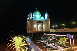 Masjid Apung Palu Ngobrol Motorcross Kota