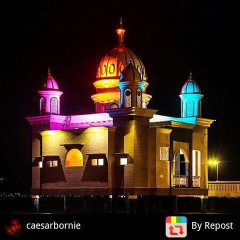 Masjid Apung Palu Sulawesi Tengah Media Pomosi Tempat Wisata Foto