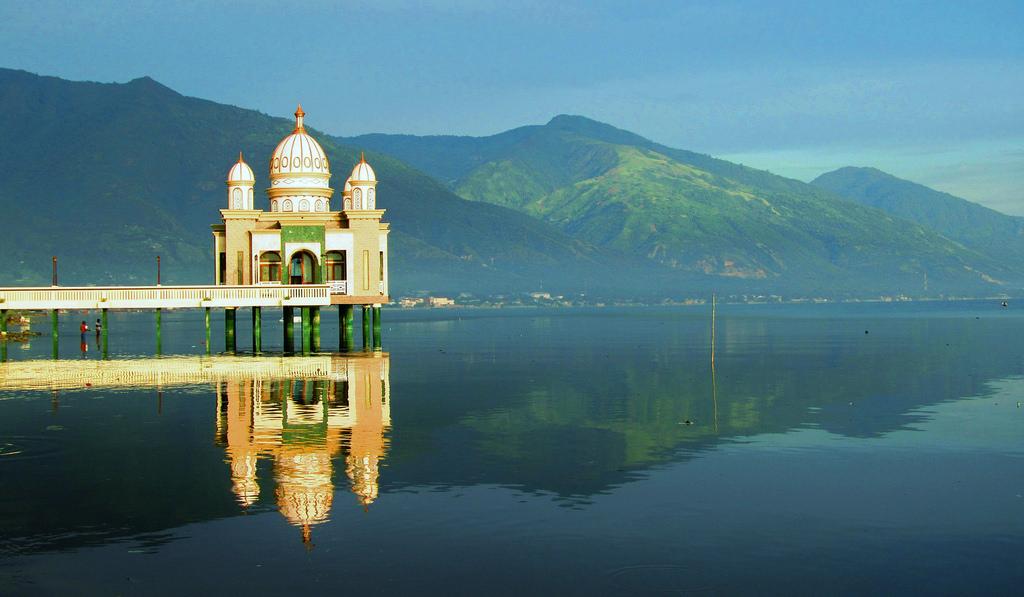 Masjid Apung Palu Sulteng Rahmat Flickr Amet Tea Kota