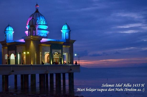 Masjid Life Journey Moment Idul Adha Foto Arkam Babu Rahman