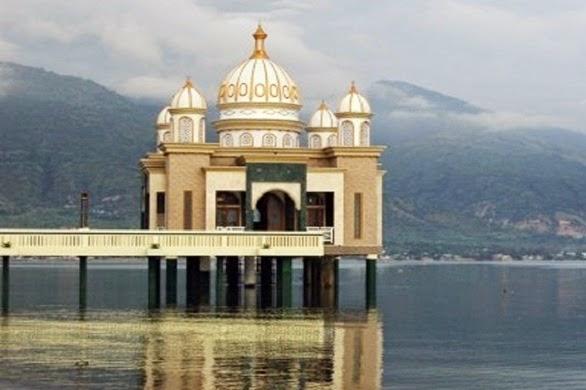 Masjid Terapung Arkam Babu Rahman Palu Kemegahan Kemegahanmasjid Blogspot Unik