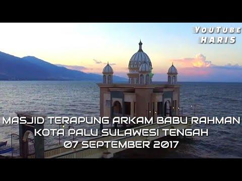 Masjid Terapung Arkam Babu Rahman Palu Sulteng Youtube Apung Kota