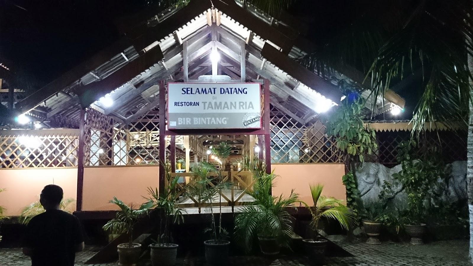 Takjub Indonesia Pantai Taman Ria Palu Diujung Terdapat Masjid Apung
