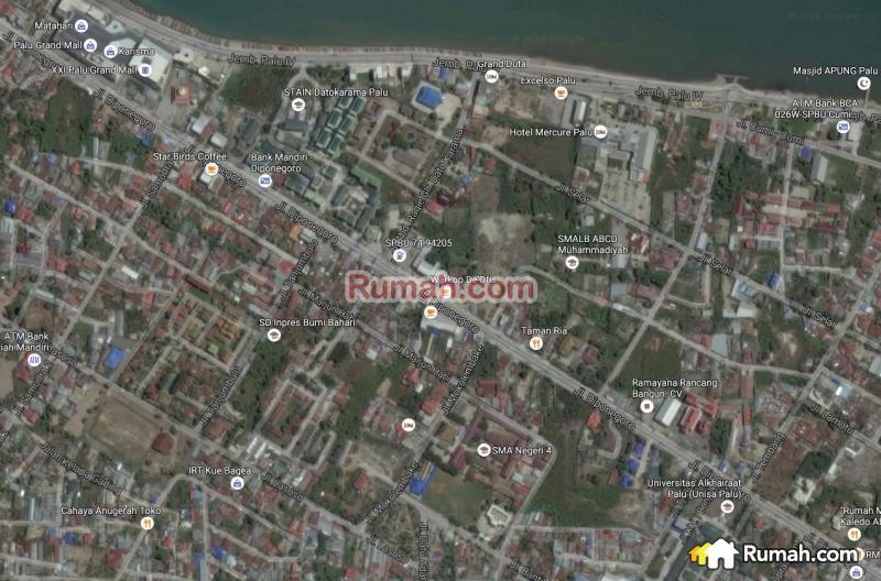Tanah 2 Ha Pusat Kota Palu Cocok Utk Rs Hotel