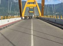 Kota Palu Jembatan Ponulele Taman Ntovea
