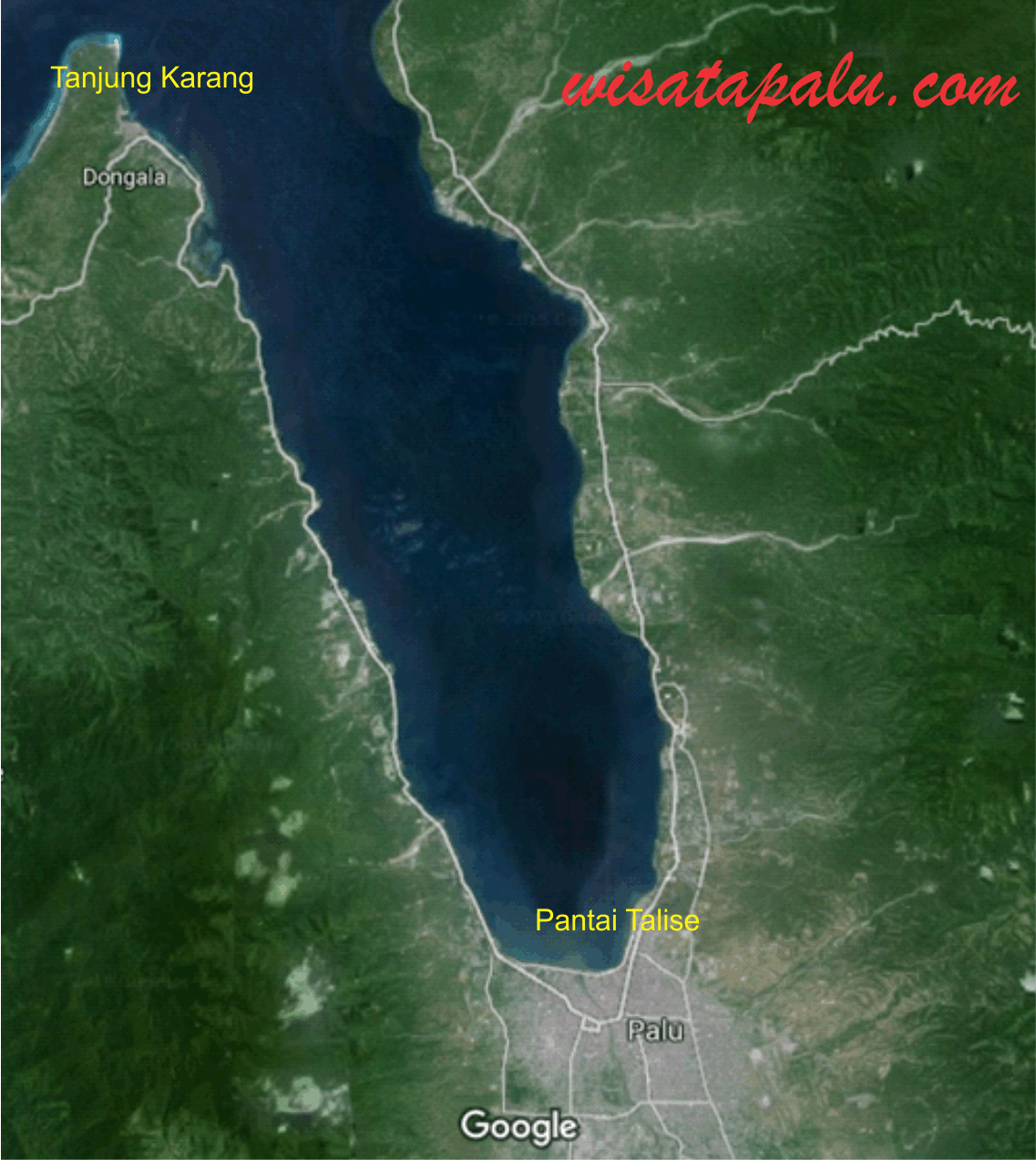 Pesona Tempat Wisata Sulawesi Tengah Palu Tugu Gerhana Matahari Kota