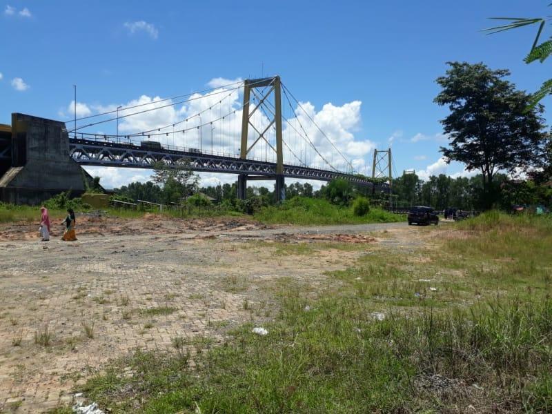 Jembatan Barito Tidak Terawat Kumuh Kumparan Tugu Inkindo Kota Palu