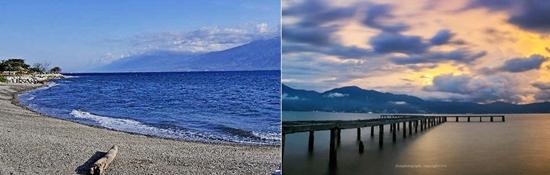 Tempat Wisata Kota Palu Eloratour Pantai Taipa Sulawesi Tengah Tugu