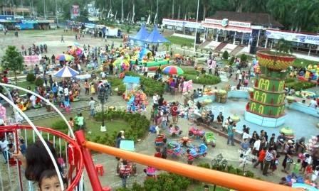 Bangka Belitung Tempat Wisata Terunik Pangkalpinang Alun Taman Merdeka Ketika