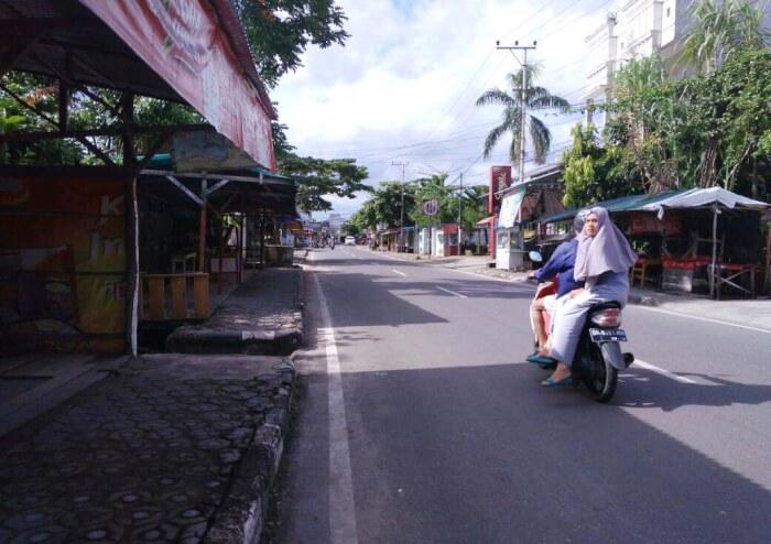 Gubernur Alun Taman Merdeka Pangkalpinang Bebas Pkl Jalan Alri Bakal