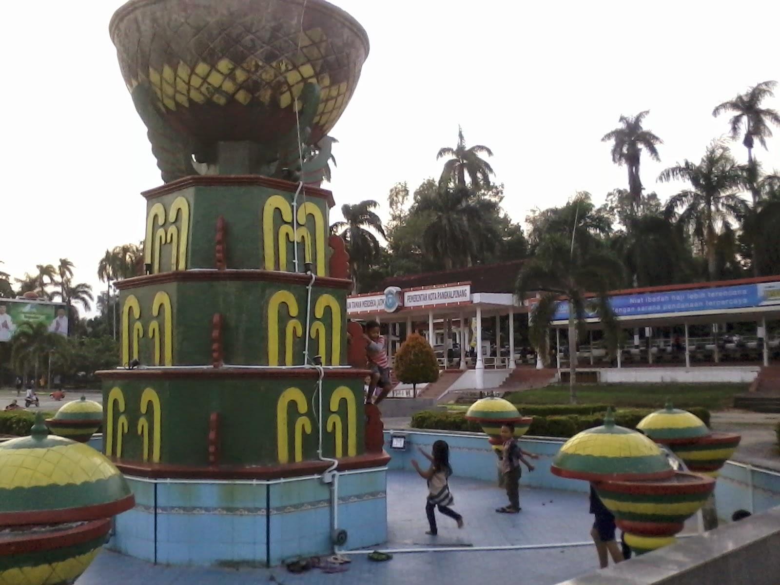 Komunitas Mania Main Yuk Lapangan Merdeka Pangkalpinang Taman Kota Alun