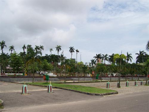 Lapangan Merdeka Pangkal Pinang Pulau Bangka Jotravelguide Alun Tempat Digunakan