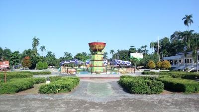 Merdeka Town Square Park Kepulauan Bangka Belitung Indonesia Alun Taman