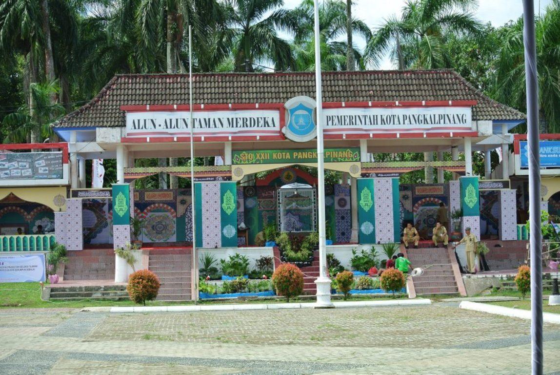 Panggung Stq Xxii 2013 Pangkalpinang Megah Artistik Alun Taman Merdeka