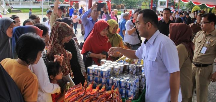 Pasar Murah 2016 Alun Taman Merdeka Kota Pangkalpinang