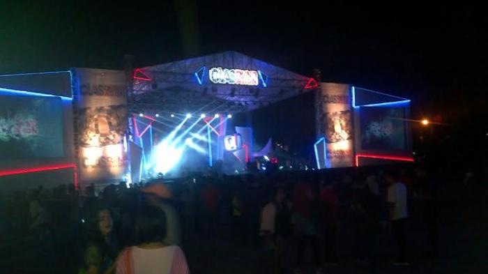 Produsen Rokok Gelar Konser Atm Bangka Pos Alun Taman Merdeka