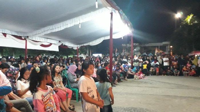 Ribuan Warga Padati Alun Taman Merdeka Bangka Pos Kota Pangkalpinang