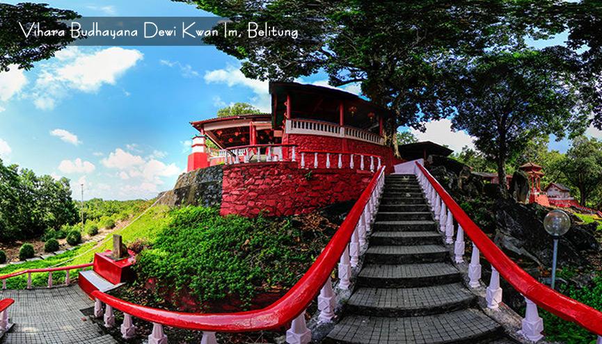 Booking Ticket Hotel Tour Reservation Belitung Bangka 4h3m Kelenteng Dewi