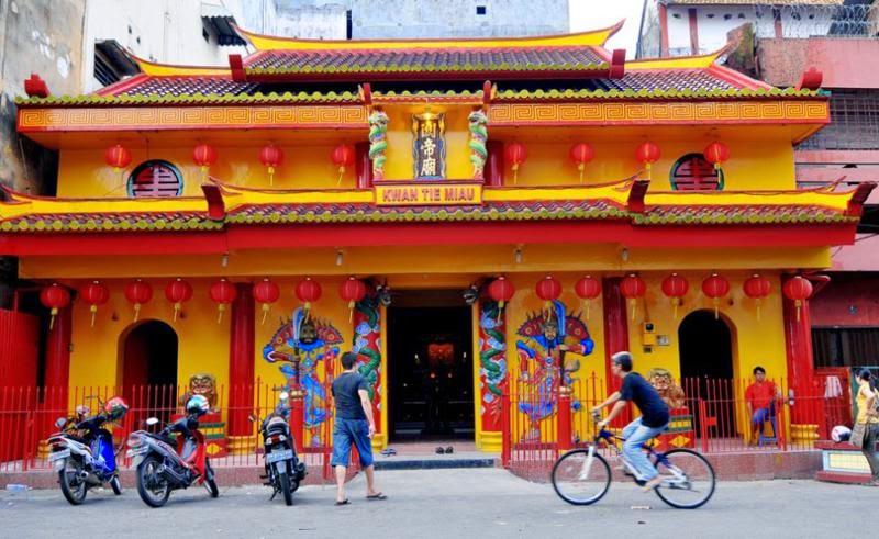 Temple Wonderful Bangka Island Pangkalpinang Kelenteng Dewi Laut Kota
