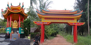 Wisata Budha Mahayana Bangka Www Ariapranata Wordpress Sore Hari Menuju