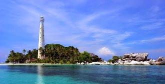 14 Tempat Wisata Pangkalpinang Bangka Tempatwisataunik Pulau Lampu Menara Air