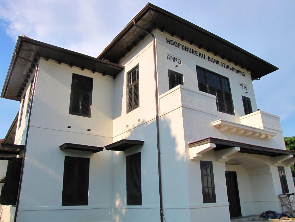 Heritage Visit Bangka Belitung Menara Air Minum Kota Pangkalpinang