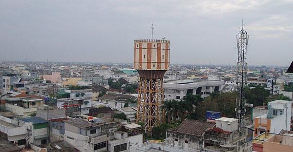 Menara Air Tirtanadi Kota Medan Indonesian Heritage Minum Pangkalpinang