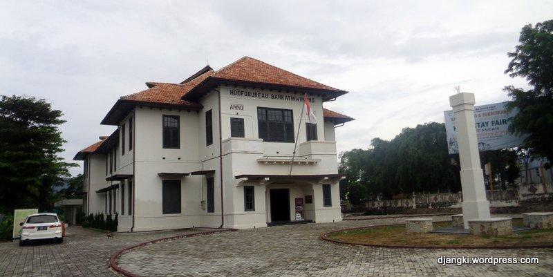 Banka Trip 6 Museum Timah Muntok Djangki Belakang Gedung Terdapat