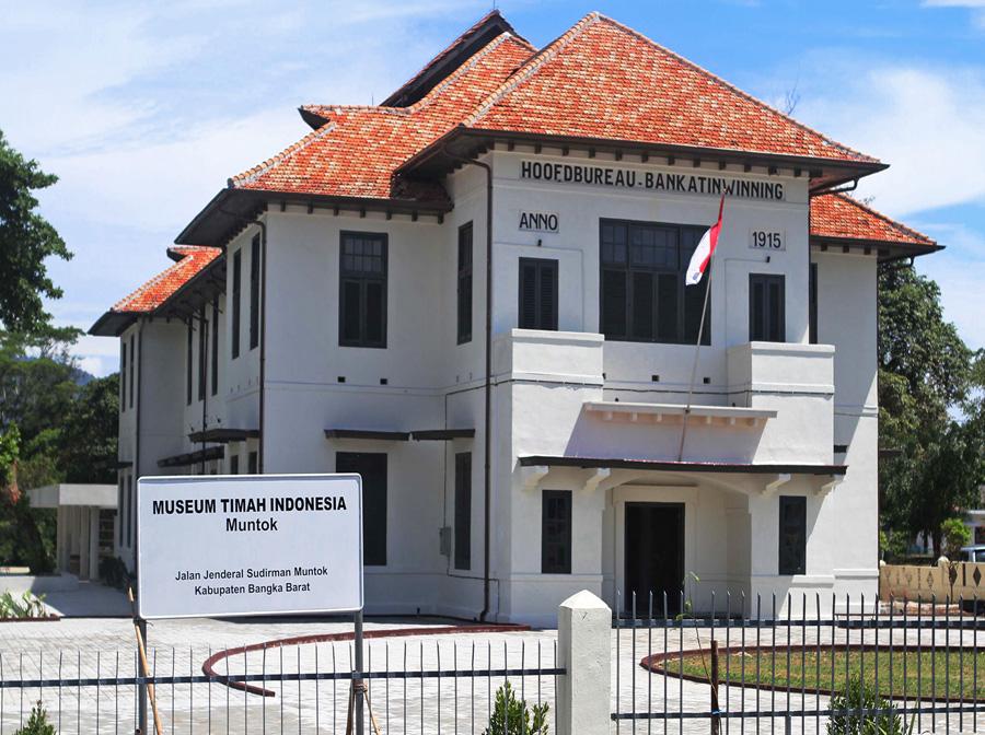 Kabupaten Bangka Barat Negeri Sejiran Setason Museum Timah Indonesia Kota