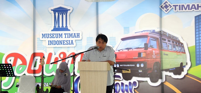 Launching Pownis City Tour Wonderful Pangkalpinang Sambutannya Ketua Pengurus Museum