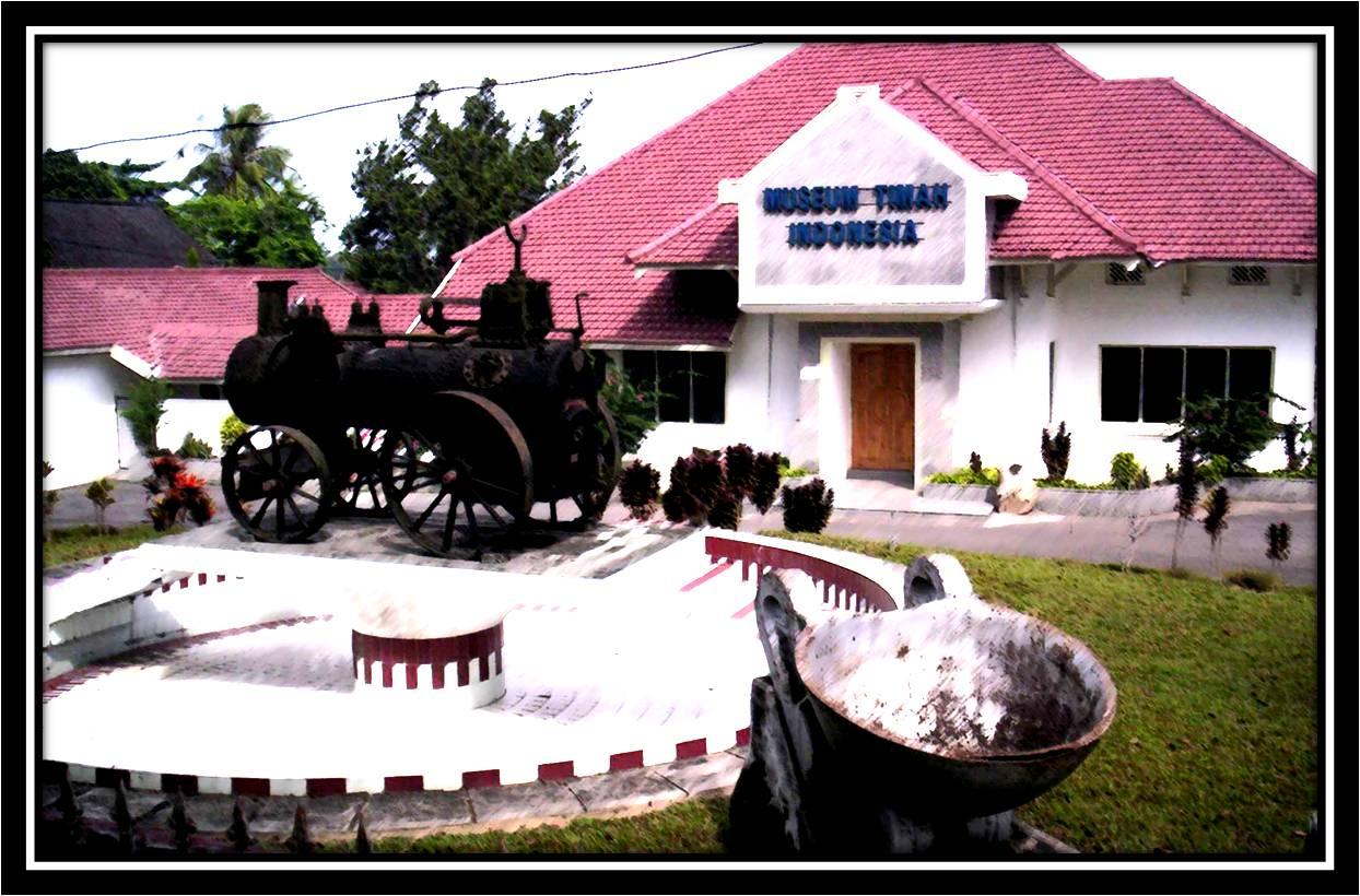 Merlyanda Puspa Indah Tin Museum Indonesia Timah Kota Pangkalpinang
