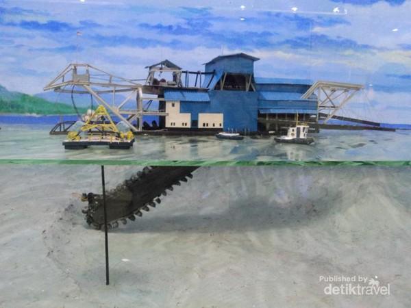 Museum Timah Bangka Hingga Jejak Soekarno Hatta Kerja Kapal Keruk