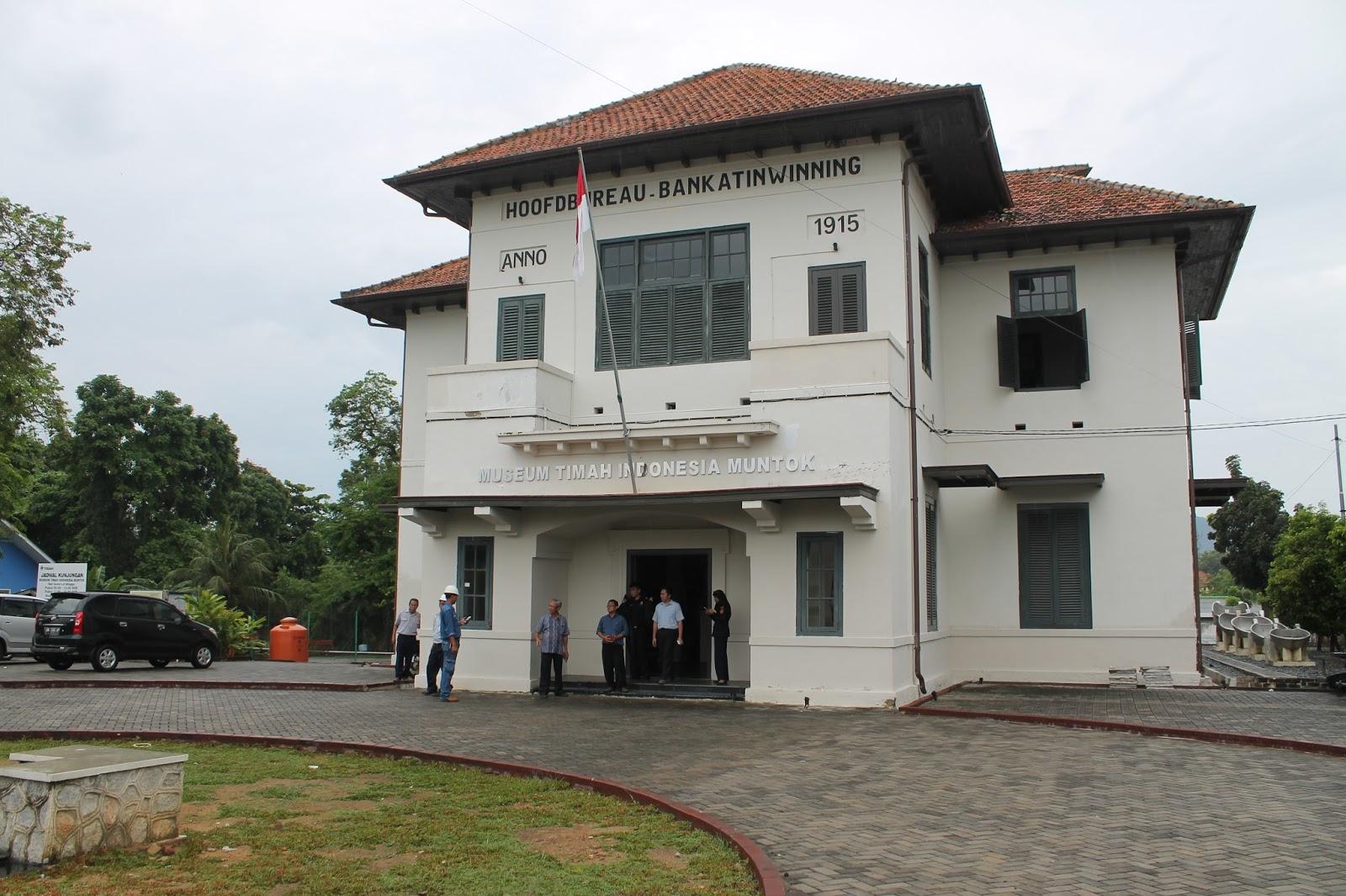 Museum Timah Indonesia Muntok Pulau Bangka Kota Pangkalpinang