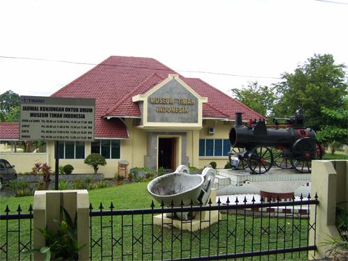 Museum Timah Indonesia Pulau Bangka Jotravelguide Kota Pangkalpinang