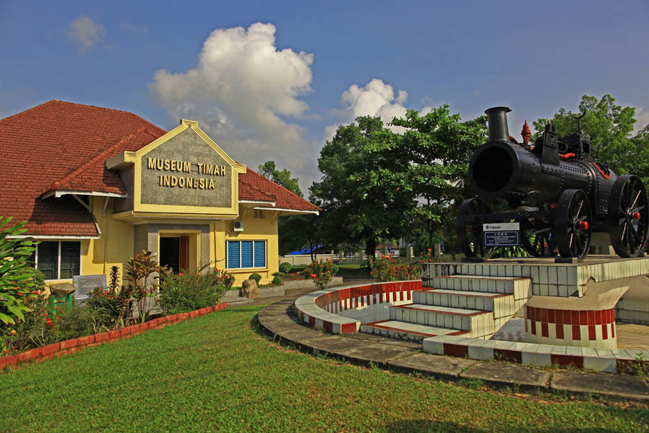 Museum Timah Indonesia Satu Satunya Asia Kota Pangkalpinang
