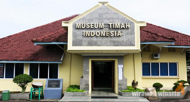 Museum Timah Pangkalpinang Tunawisma Hari Berkesempatan Mengunjungi Memindai Ulang Rekaman