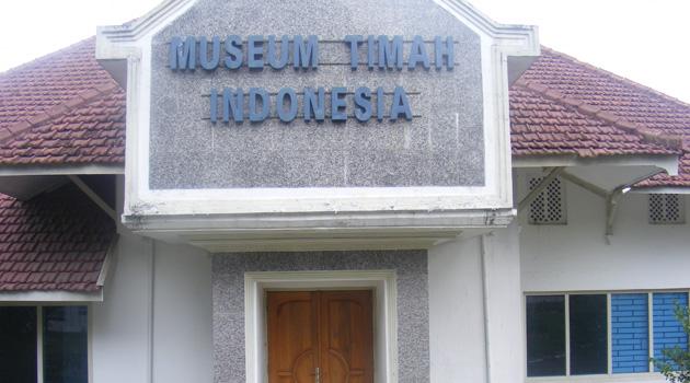 Museum Timah Sejarah Pertimahan Indonesia Indonesian Heritage Kota Pangkalpinang