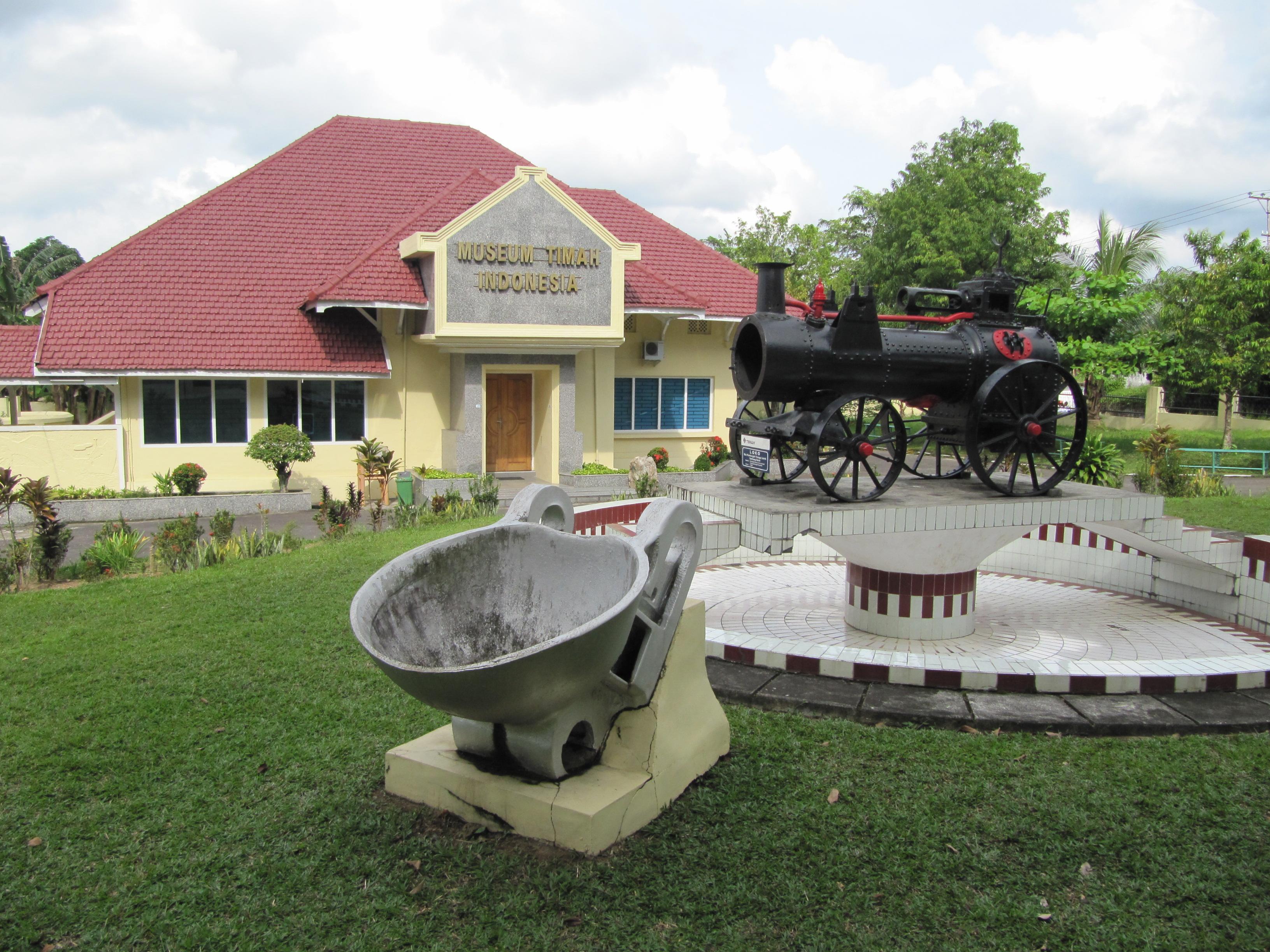 Musium Timah Indonesia Satu Satunya Asia Museum Kota Pangkalpinang