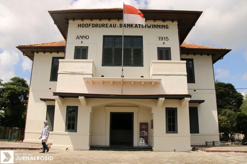 Rosidnet Museum Timah Indonesia Muntok Provinsi Kepulauan Tampak Depan Kota